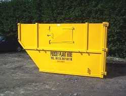 Jumbo Skip - Enclosed - Pudsey Plant Hire