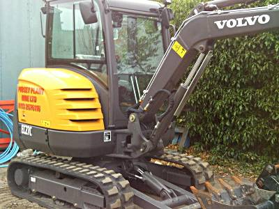 Pudsey Plant Hire Mini Digger Hire