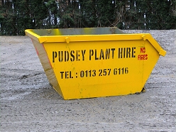 Mini Skip - Pudsey Plant Hire