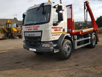 Pudsey Plant Hire Skip Hire Services