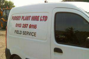 Pudsey Plant Hire Service