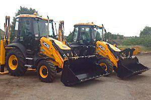 Pudsey Plant Hire JCB